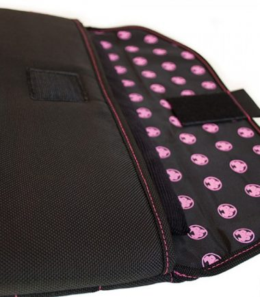 "Sumo Sleeve - 15"" Black / Pink"
