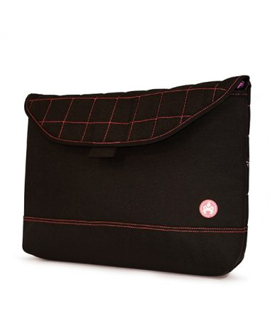 "Sumo Sleeve - 17"" Black / Pink-0"