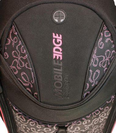 Express Laptop Backpack (Pink Ribbon) - Headphone Pass-Through