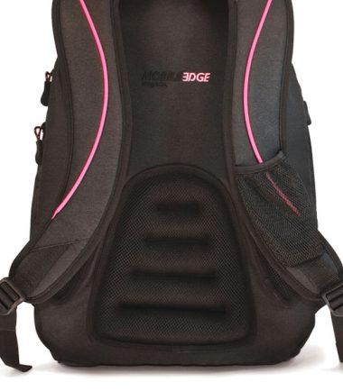 Express Laptop Backpack (Pink Ribbon) - Ergonomic Backing