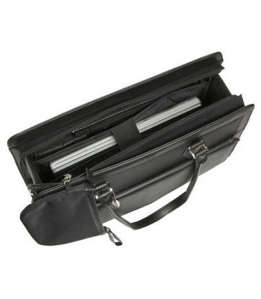 Geneva - MicroFiber (Large) Laptop Tote - Dedicated Laptop Compartment - hover
