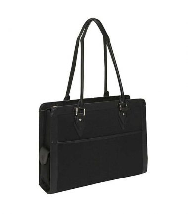 Onyx Geneva Laptop Tote - EZ-Access ticket pocket