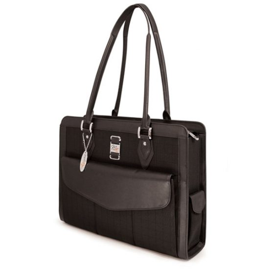 Onyx Geneva Laptop Tote - Fits laptops with screens up to 16 inch