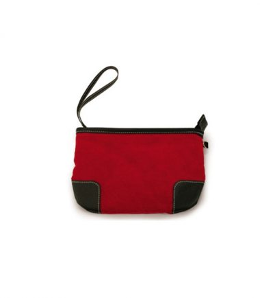 Milano - Black (Large) (Laptop Bag) - Removable Accessories/Cosmetics Wristlet