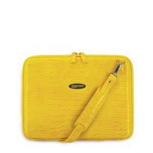 Portfolio - Yellow Faux-Croc-0