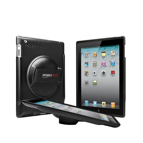 Rev360 Rotating Case for iPad (Black)-0