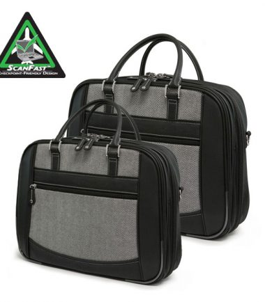 ScanFast Herringbone Element Briefcase-0