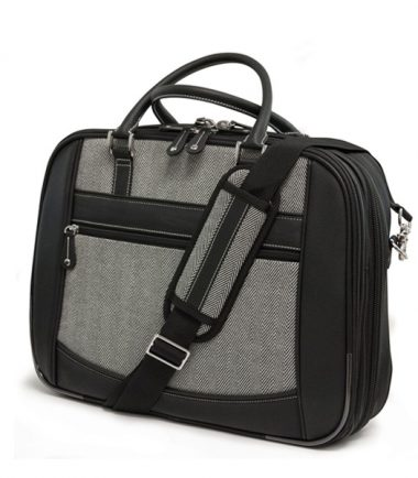 ScanFast Herringbone Element Briefcase - Large-0