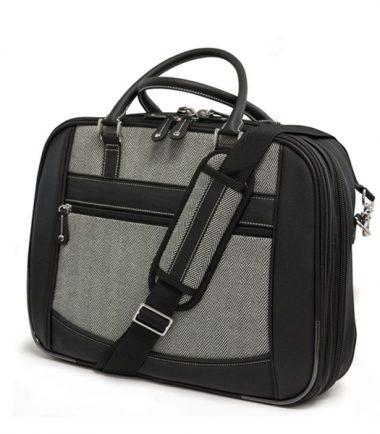 ScanFast Herringbone Element Briefcase - Large-0