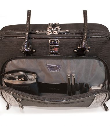 ScanFast Onyx Checkpoint Friendly Briefcase-22780