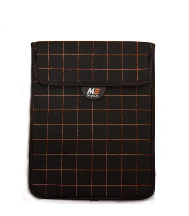 NeoGrid Tablet Sleeve (Black with Orange Stitching)-0