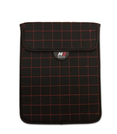 NeoGrid Tablet Sleeve (Black with Red Stitching)-0