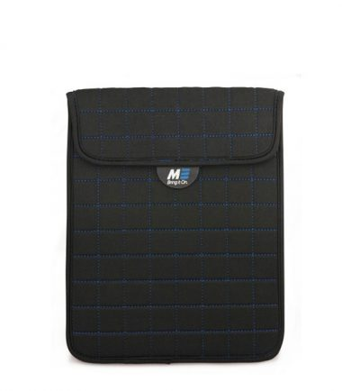 "NeoGrid iPad Mini 7"" Tablet Sleeve (Black with Blue Stitching)-0"