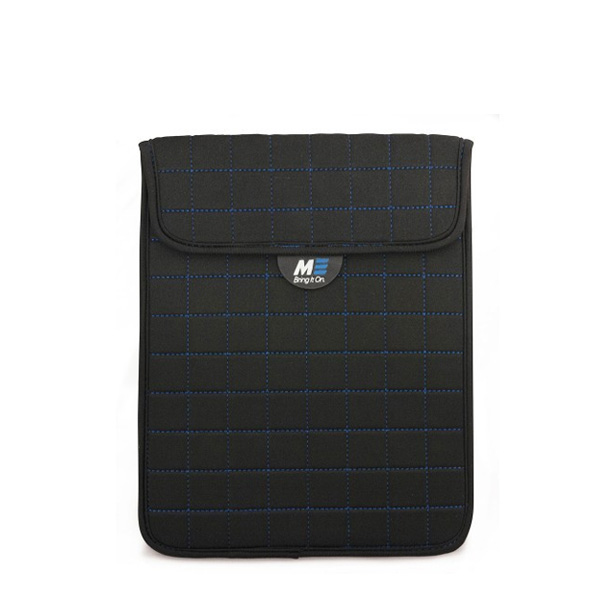 "NeoGrid iPad Mini 7"" Tablet Sleeve (Black with Blue Stitching)-0"