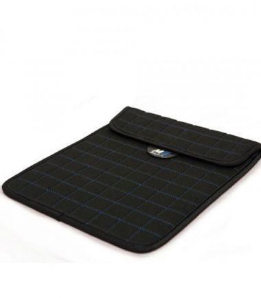 "NeoGrid iPad Mini 7"" Tablet Sleeve (Black with Blue Stitching)-19885"