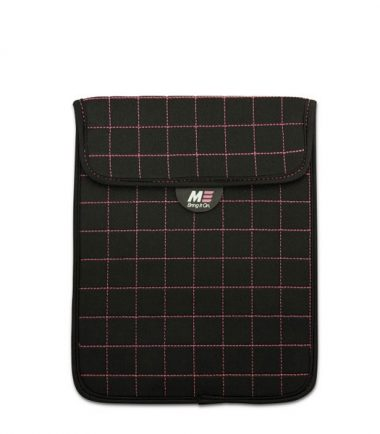 "NeoGrid iPad Mini 7"" Tablet Sleeve (Black with Pink Stitching)-0"