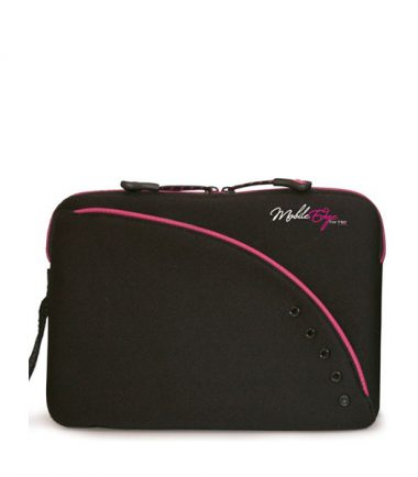 Mobile Edge iPad / Tablet Sleeve 8.9 inch - Black / Pink