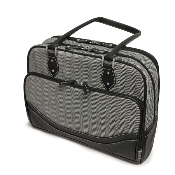 Classic Herringbone Laptop Tote (Large)-0