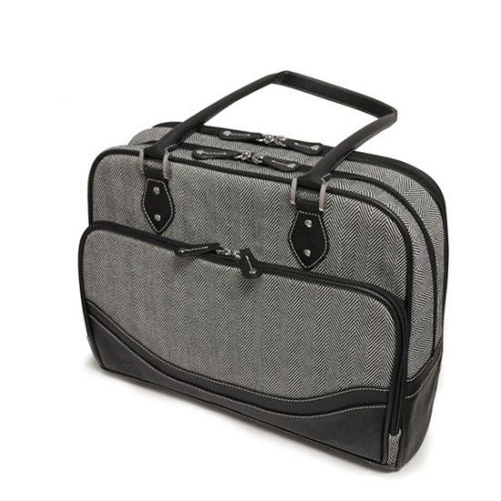 Classic Herringbone Laptop Tote (Small)-0
