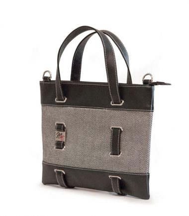 Herringbone Tablet Tote-0