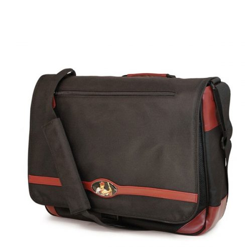 Maddie Powers Messenger - Black-0