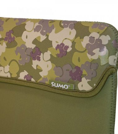 Sumo Camo iPad Sleeve (Green)