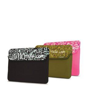 Sumo Graffiti iPad Sleeve (Black)-0