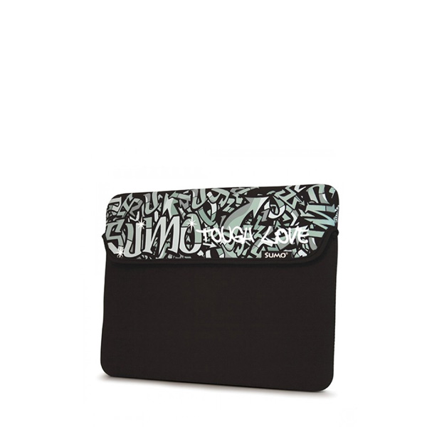 Sumo Graffiti iPad Sleeve (Black)-0