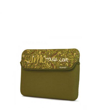 Sumo Graffiti iPad Sleeve (Green)-0