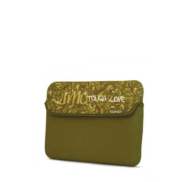 Sumo Graffiti iPad Sleeve (Green)-0