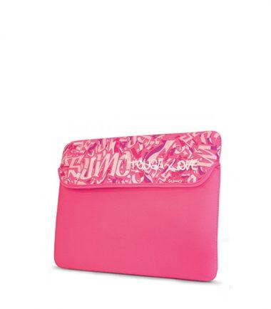 Sumo Graffiti iPad Sleeve (Pink)-0