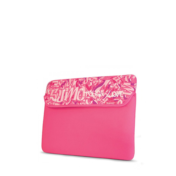 Sumo Graffiti iPad Sleeve (Pink)-0