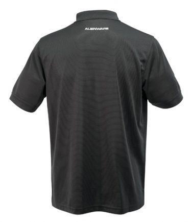 Alienware Polo Shirt - Black-21219