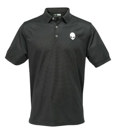 Alienware Polo Shirt - Black-0