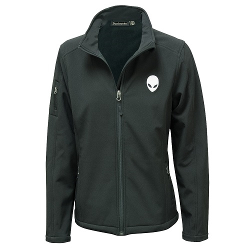 Alienware Ladies Slim-Fit Jacket - Black - Size S-0
