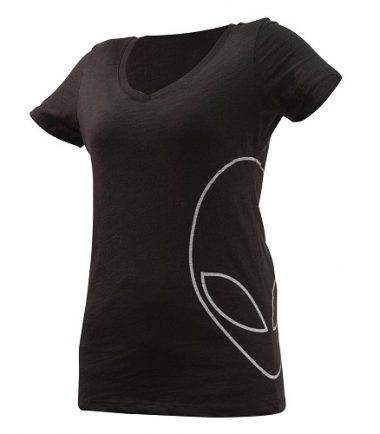 Alienware Women's Offset Alien Head T-Shirt for the mobile gamer-0