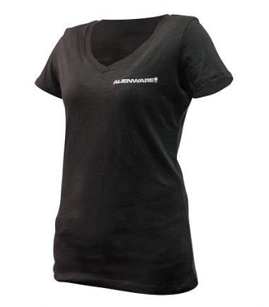 Alienware Women's Classic Font Logo T-Shirt for the mobile gamer -21286