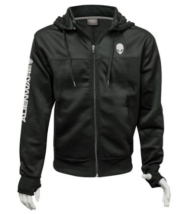 Alienware Poly-Tech Zip Hoodie – Black-0