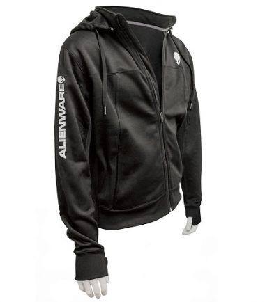 Alienware Poly-Tech Zip Hoodie – Black-21198