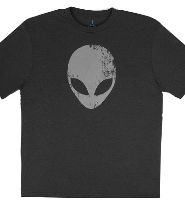 Alienware Distressed Head Gaming Gear tri-blend T-shirt-21421