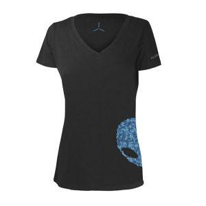 Women's Alienware Ultramodern Alien Puzzle Head Gaming Gear tri-blend T-shirt - Size S-0