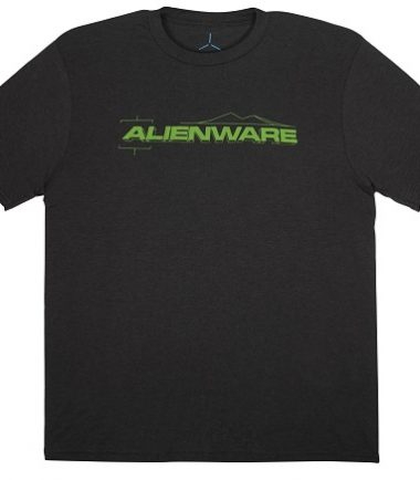 Alienware Fresh Green Alienware Font Gaming Gear tri-blend T-shirt-21270