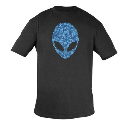Alienware Ultramodern Alien Puzzle Head Gaming Gear tri-blend T-shirt - Size M-0