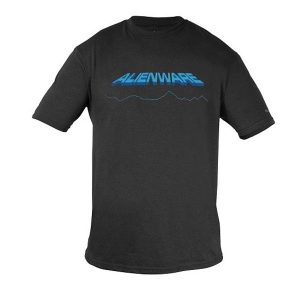 Alienware Space-Age Alienware Font Gaming Gear tri-blend T-shirt - Size M-0