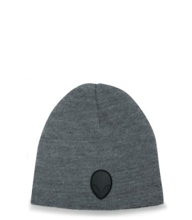 Alienware Beanie Knit Cap - Heather Gray-0