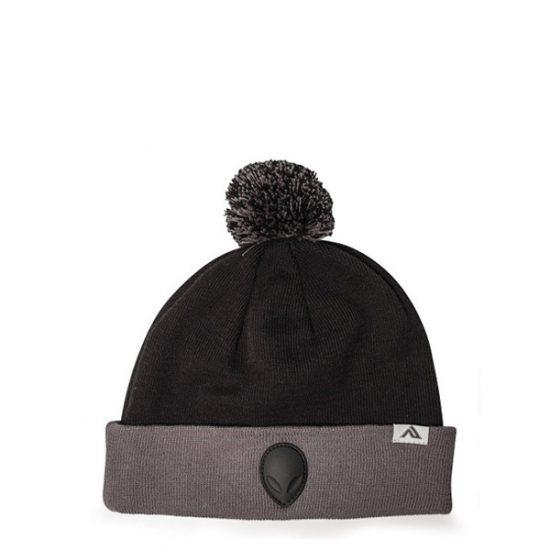Alienware Beanie Cap - Black and Gray-0