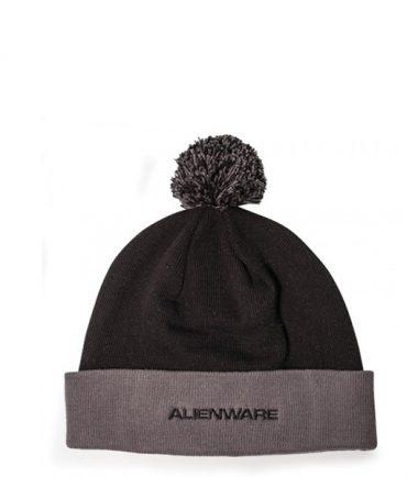 Alienware Beanie Cap - Black and Gray-21589