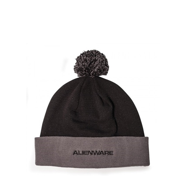 Alienware Beanie Cap - Black and Gray-0
