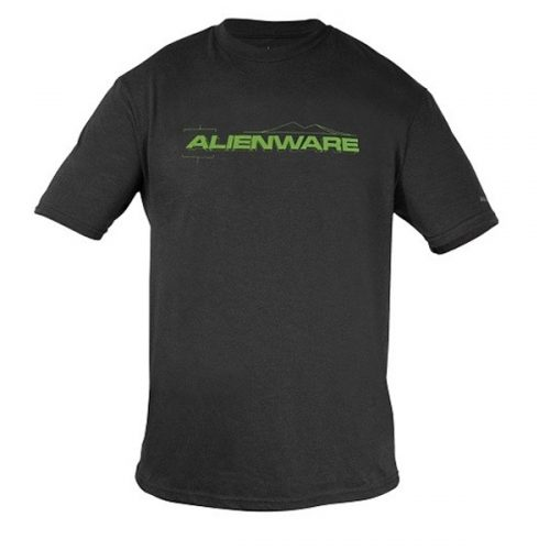 Alienware Fresh Green Alienware Font Gaming Gear tri-blend T-shirt - Size L-0