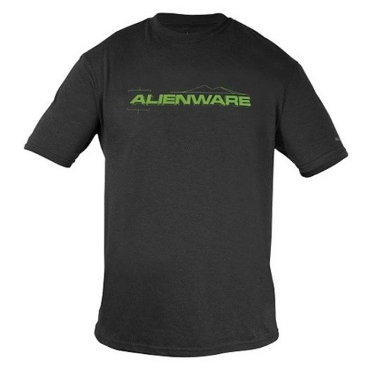 Alienware Fresh Green Alienware Font Gaming Gear tri-blend T-shirt-0